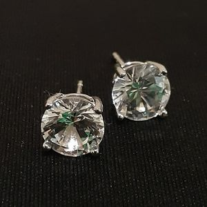 """""""Quality"""" Round Cut Earrings"""